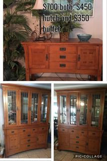 Hutch and buffet