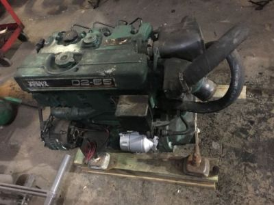Purchase Volvo Penta D2-55 55HP Inboard Marine Diesel Motor - Sailboat Engine - Beneteau motorcycle in Houston, Texas, United States, for US $3,750.00
