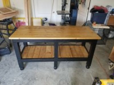 Solid wood table or Kitchen Island