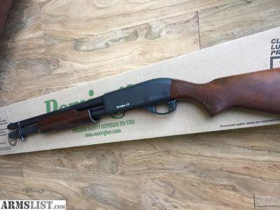 For Sale/Trade: Remington 870 Hardwood Home Defense