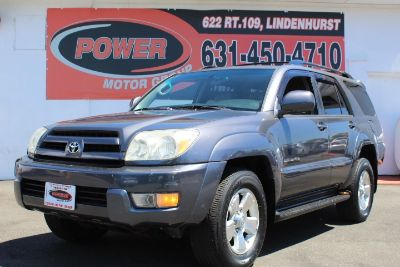 2005 Toyota 4Runner Limited (Galactic Gray Mica)