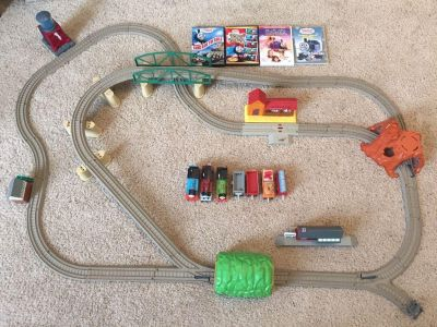 Thomas the Train set including DVDs