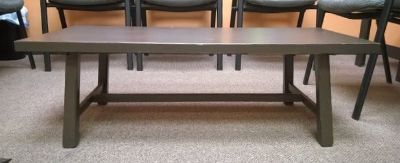 coffee table and side table set brown wood