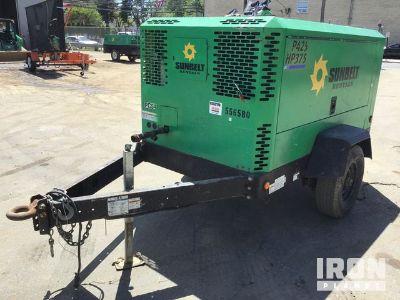 2013 Doosan Infracore P425/HP375WCU-T4I Air Compressor