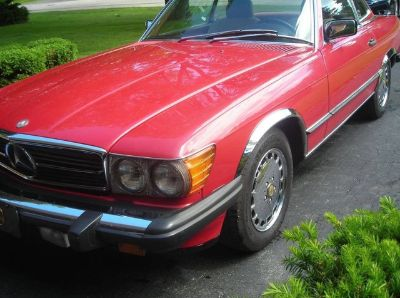 1987 Mercedes-Benz 560SL 2 Dr Convertible