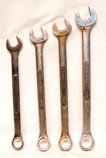 """Purchase Craftsman 4 piece Large Combination Wrench Set 12 Point 1"""" to 1 1/4"""" motorcycle in Lima, Ohio, US, for US $20.00"""