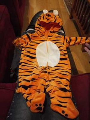 Little Tiger for HALLOWEEN or JUST WEARING.0 to 3months