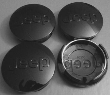 Sell 4pcs 63mm Wheel Center Caps Jeep Grand Cherokee Wrangler Liberty Compass BLACK motorcycle in Houston, Texas, United States, for US $26.99