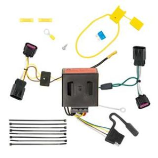 Buy T-One Assembly w/ Upgraded Circuit Protection Trailer Hitch Wiring Light Kit motorcycle in Grand Prairie, Texas, US, for US $45.91