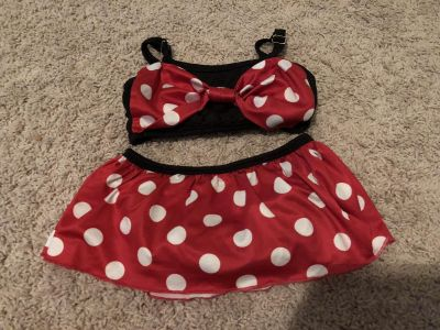 Minnie Mouse inspired bathing suit