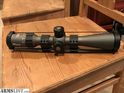 For Sale: Sig Tango 4 First Focal Plane, 30mm tube, 4-16x44 MRAD Illuminated