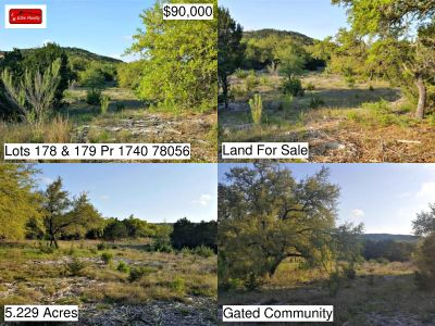 Lots 178 and 179 Pr 1740 - Land for Sale in Mico, TX 78056