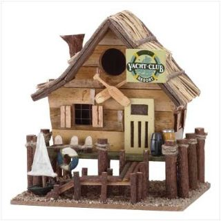 Designer Birdhouse: Yacht Club 32188 New