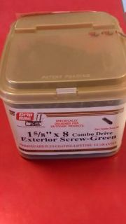 1-58 exterior screws 5lb box