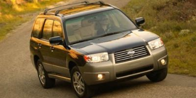 2007 Subaru Forester XS L.L.Bean Edition (Crystal Gray Metallic)