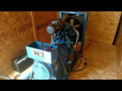 Purchase Northern Lights 20 KW Diesel Engine w/Battery Generator Electric Start Only 40hr motorcycle in Griffin, Georgia, United States, for US $8,000.00
