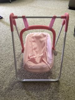 Badger baby doll swing/ detachable Carrier