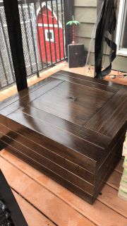Canvas Crestwood Fire Table