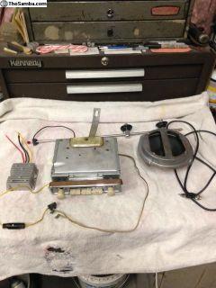Blaupunkt radio, 12V w/ antenna