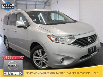 2015 Nissan Quest 3.5 S (Brilliant Silver)