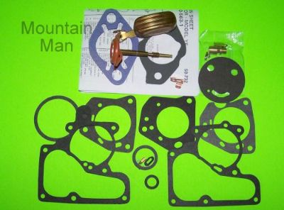 Sell Carter 1 YF Carburetor Kit 1962 63 64 - 72 Chevy Ford Jeep 215 230 250 w Float motorcycle in Hackett, Arkansas, United States, for US $24.50