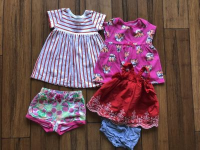 Spring/Summer Baby clothes Lot