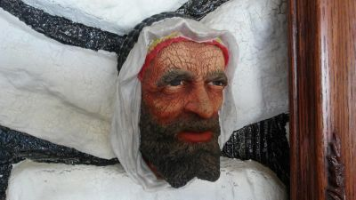 Bosson Collectible Head The Syrian