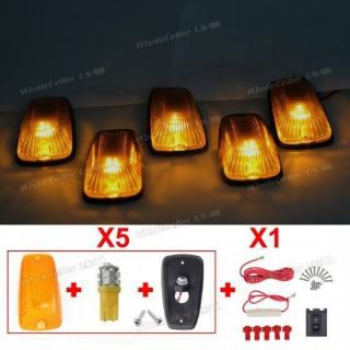 Purchase Pack/5 T10 168 10-3528-SMD Amber LED Cab Clearance 11516638 Amber Lamp for Chevy motorcycle in Milpitas, California, United States, for US $33.99