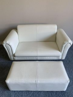 Kids couch and ottoman