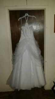 wedding dress new size4