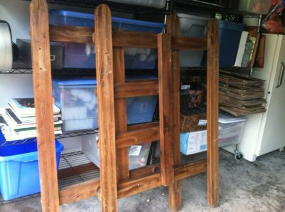 real wood bunk beds and mattresses
