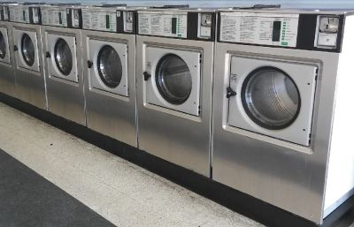 Coin Operated Wascomat Front Load Washer W125 ES 220v 60Hz 3PH USED