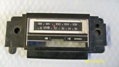 Find Radio Escutcheon Faceplate Bezel AM FM St 8 Trk 9348274 1978 79 80 81 GM Delco motorcycle in Portland, Oregon, United States, for US $13.95