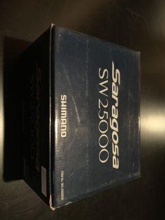 2- shimano saragosa sw25000