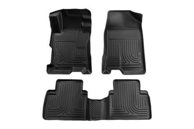 Buy Husky Liners 98401 08-12 Honda Accord Black Custom Floor Mats 1st, 2nd Row motorcycle in Winfield, Kansas, US, for US $134.95