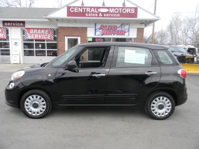 2014 Fiat 500L Pop (Nero Puro (Straight Black))