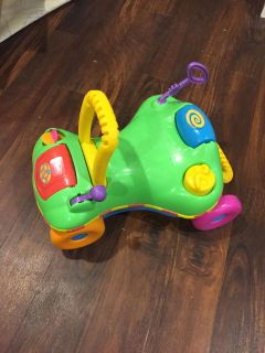 Playskool ride on toy converts to walker