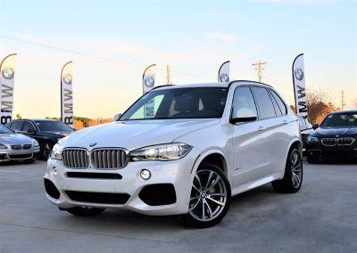 2014 BMW X5 xDrive50i (White)