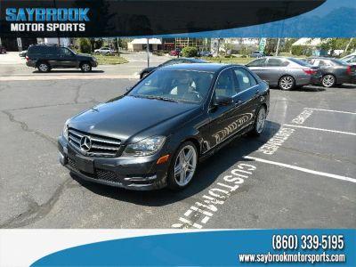 2014 Mercedes-Benz C-Class C300 4MATIC Luxury (Gray)
