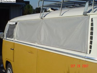 Bay Sun Block 5 piece side/rear window set