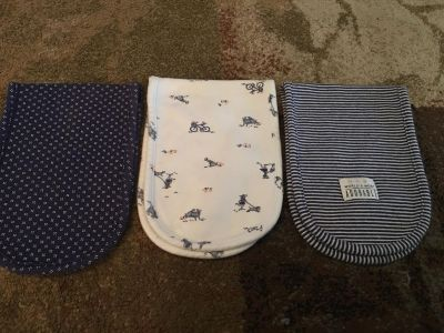 3 carters burp rags - ppu (near old chemstrand & 29) or PU @ the Marcus Pointe Thrift Store (on W st)
