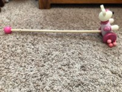 Bunny Rabbit Push Toy