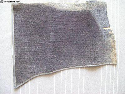 Ghia right hand kick panel carpet piece