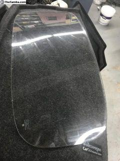 Rear bug glass