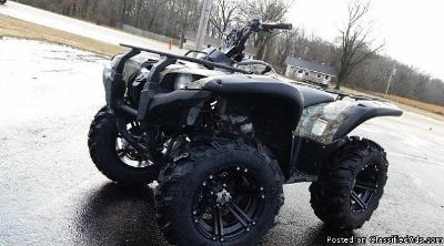 2012 YAMAHA GRIZZLY 700 4x4