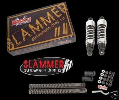 Sell BURLY SLAMMER SHOCKS & FORK SPRINGS KIT 04-12 XL 883 1200 SPORTSTER motorcycle in Gambrills, Maryland, US, for US $233.89