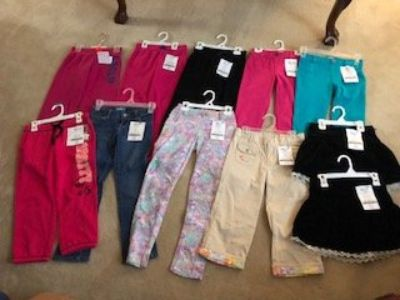 Girls Pants / Jeggings / Skirts Size 7/8 and 10