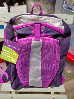 Wexford backpack w matching lunchbox