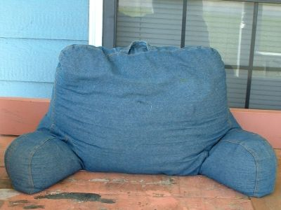 bed back rest pillow