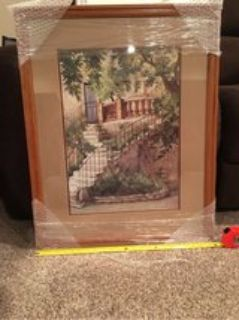 picture- double matted- framed